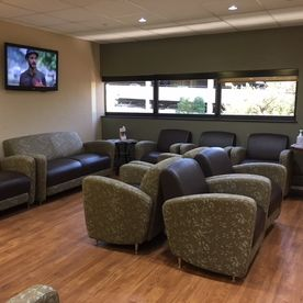 N2 Physical Therapy Englewood office lobby and waiting area 1